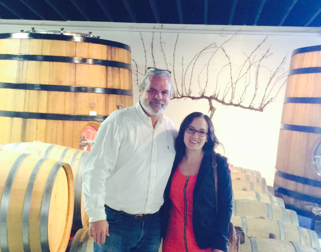 Richard Olsen-Harbich: I'm in a New York State of Wine