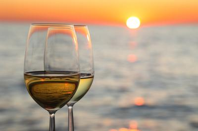 Beach and travel wines